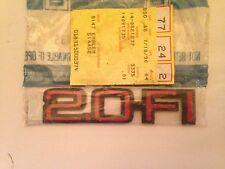 NEW GM  2.0 FI EMBLEM OEM 14091735,RS!!!