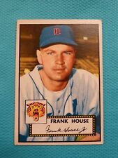 1952 Topps #146 Frank House RC Rookie Baseball Card - Detroit Tigers