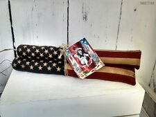 Primitive Firecracker bowl filler 4th of July Grungy decor Americana Folk Art