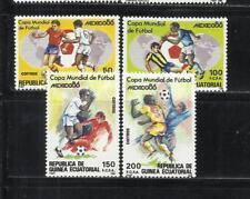 GUINEA ECUATORIAL. Año: 1986. Tema: DEPORTES. FUTBOL.