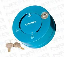 NRG Steering Wheel Quick Release Hub Quick Lock NEW BLUE Finish (SRK-101NB)