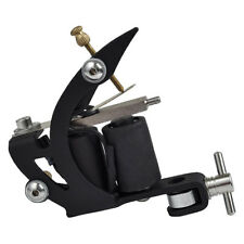 STEEL Silicone Finish BLACK Gun Liner Tattoo Machine US