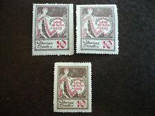 Stamps - Latvia - Scott# 59 & 61