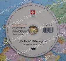 VW RNS 510 Navigation Strassenkarten DVD 2019-2