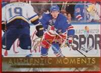2016-17 Authentic moments  #112 Jimmy VESEY GOLD, AUTOGRAPH