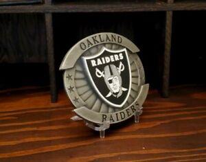 Oakland Raiders Officially Licensed Enameled Logo Belt Buckle 2004 Siskiyou