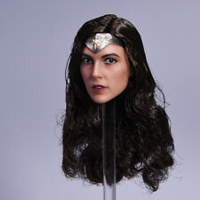 1:6 Scale Gal Gadot BVS Wonder Woman Head Sculpt Model Special Ver.