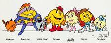80's Vintage Eighties Cartoon Poster PACMAN Poster  17 inch X 36 inch  01