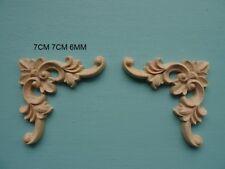 Decorative scroll corners furniture moulding applique onlay DF12