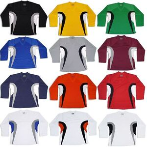 Tron DJ200 Dry Fit Practice Hockey Jersey Adult & JR EDGE INSPIRED
