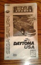 Daytona USA Sega Saturn SS Instruction Manual Booklet