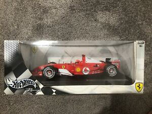 Hot Wheels Racing Diecast 1/18 - Michael Schumacher F2004 - Brand New