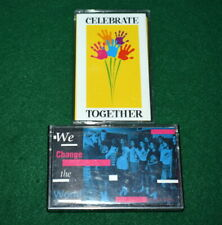 GIRL SCOUT - TWO CASSETTE TAPES - WE CHANGE THE WORLD & CELEBRATE TOGETHER