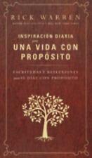 Inspiración Diaria para una Vida con Propósito : Escrituras y Reflexiones...