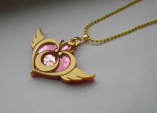 Sailor Moon Crisis Moon Compact Brooch Necklace Prop