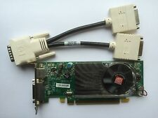 SFF Dual DELL y104d Radeon HD 3450 256mb PCIe TV-OUT Windows 8 con DVI Separador