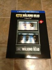 The Walking Dead Complete Third Season 3 Blu Ray (Limited Edition Heads) New!