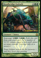 MTG MAGIC 1x GOLIAT DE PUENTE MUERTO / DEADBRIDGE GOLIATH PROMO FOIL  ESPAÑOL