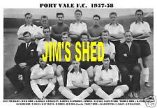 PORT VALE F.C.TEAM PRINT 1957-58 (HIGGS/ASKEY/POOLE)