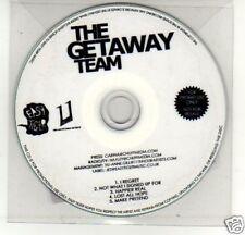(A236) The Getaway Team, I Regret - DJ CD