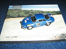 TROFEU 1:43 ALPINE RENAULT A110 1ST TOUR DE COURSE 1968 ANDRUET/GELIN NEW-BOXED