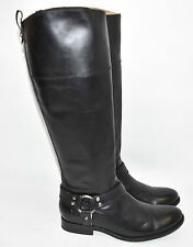 Frye 'Melissa Harness' Black Leather Inside Zip Boot Size 7.5 76927