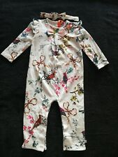 Girls Ted Baker Footless Sleepsuit/Baby Grow 12-18 Months