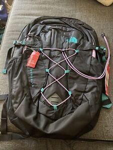 The North Face Women's Borealis 28L, 15Laptop Backpack Black/Blue/lav