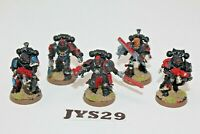 Warhammer Space Marine Blood Angels Death Company on Foot - JYS29
