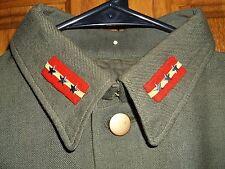 Original WW2 SERGEANT MAJOR Japanese IJA Combat Uniform w/ Rank Insignia Jacket