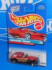 Hot Wheels 1998 Tropicool Series #695 Classic Caddy Red w/ 3SPs