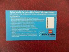 1x freien Kinder-Eintritt Legoland Günzburg oder Billund(DK) Gültig Saison 2021