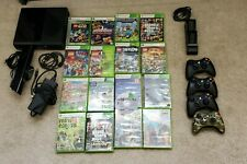 Xbox 360 4GB Black Console with Kinect/500 GB hard drive/Controllers/Games