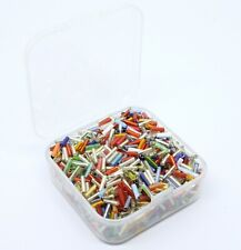 A small box of 40g of 6mm Glass Bugle Beads. Approx 900 beads  seed06