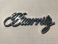 Cadillac Biarritz Schriftzug Kofferraum Kotflügel Emblem Script Trunk Ornament