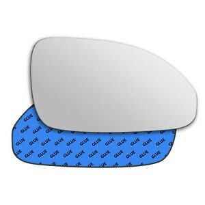 Right wing adhesive mirror glass for Buick Enclave 2009-2017 763RS