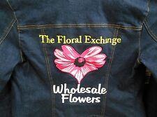 Kumikyoleu 2000 Womens Denim Jeans Jacket Size 2 Embroidered Designer Japan