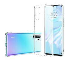 Huawei P20 Handyhülle Handy Hülle Schutzhülle Case Cover Silikon Transparent Neu