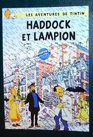 Carte Postale Tintin - HADDOCK ET LAMPION - Pastiche La Boîte aux Images. 2019