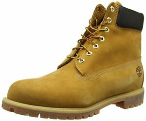Timberland Mens 6 inch Waterproof Boot,Wheat Nubuck,8 W US Damaged Box