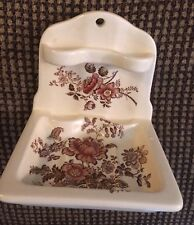 Antique Charlotte Royal Crownford Shaffordshire  England Soap/Toothbrush Dish