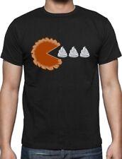 Thanksgiving Pumpkin Pie & Cream Retro T-Shirt Gamers
