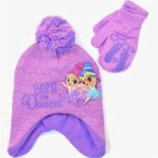 Brillant & Shine Doublé Polaire Tricot Bonnet Trappeur Chapeau Hiver & Mitaines