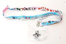 NEW Universal Studios Hello Kitty Happy Holidays  Lanyard ID Badge