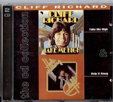 CLIFF RICHARD - TAKE ME HIGH / HELP IT ALONG  2 CD  1992  EMI