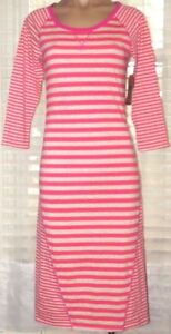 NEW Route 66 S, Small 3/4 sleeve striped knit dress