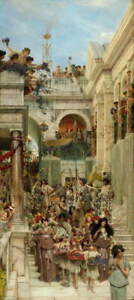 Lawrence Alma Tadema Spring Poster Reproduction Paintings Giclee Canvas Print