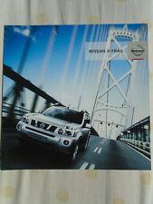 Nissan X Trail brochure c2007 French & English text