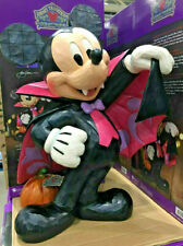 More details for disney traditions 17 inch halloween vampire mickey mouse greeter jim shore *new*