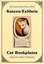 KATZEN-EXLIBRIS Schutt-Kehm/Wittal CAT BOOKPLATES Ex Libris Book